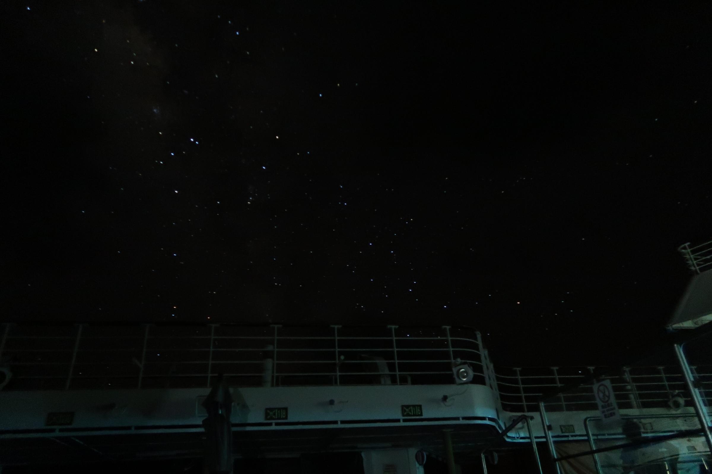 海賊 警戒海域の星空③