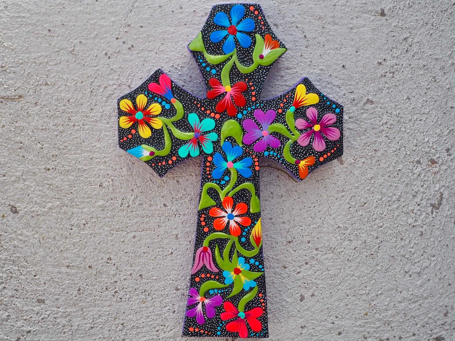 ドローン空撮のプロ、チパコプターが oaxaca で見つけた最高にかわいい十字架(クロス)