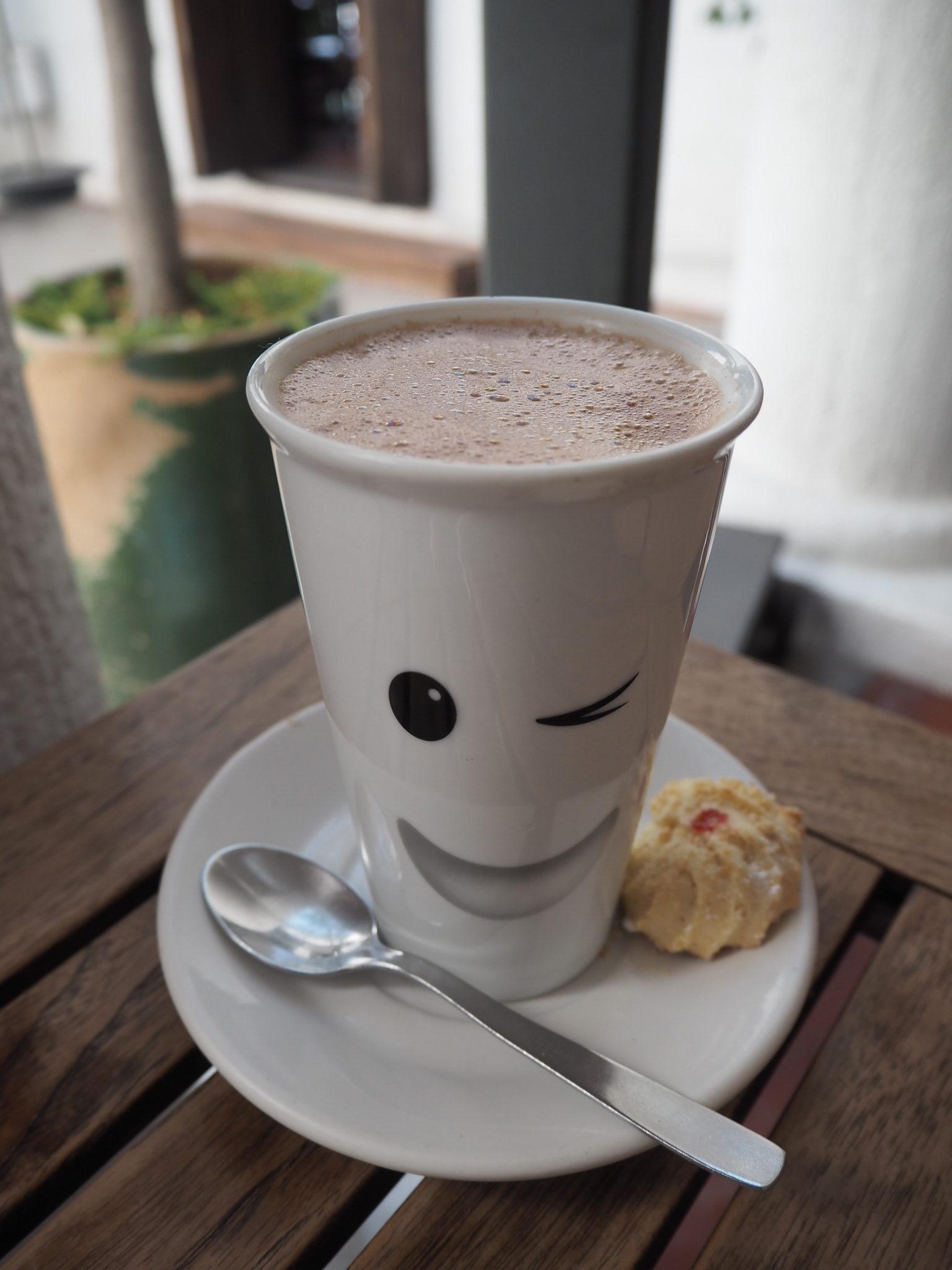 オアハカのカフェ