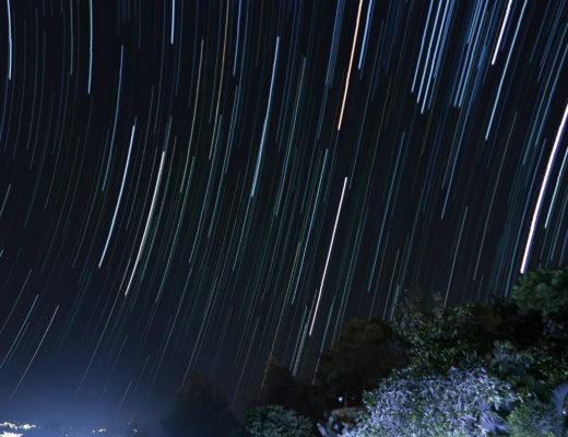 サンペドロ・ラ・ラグーナの星空