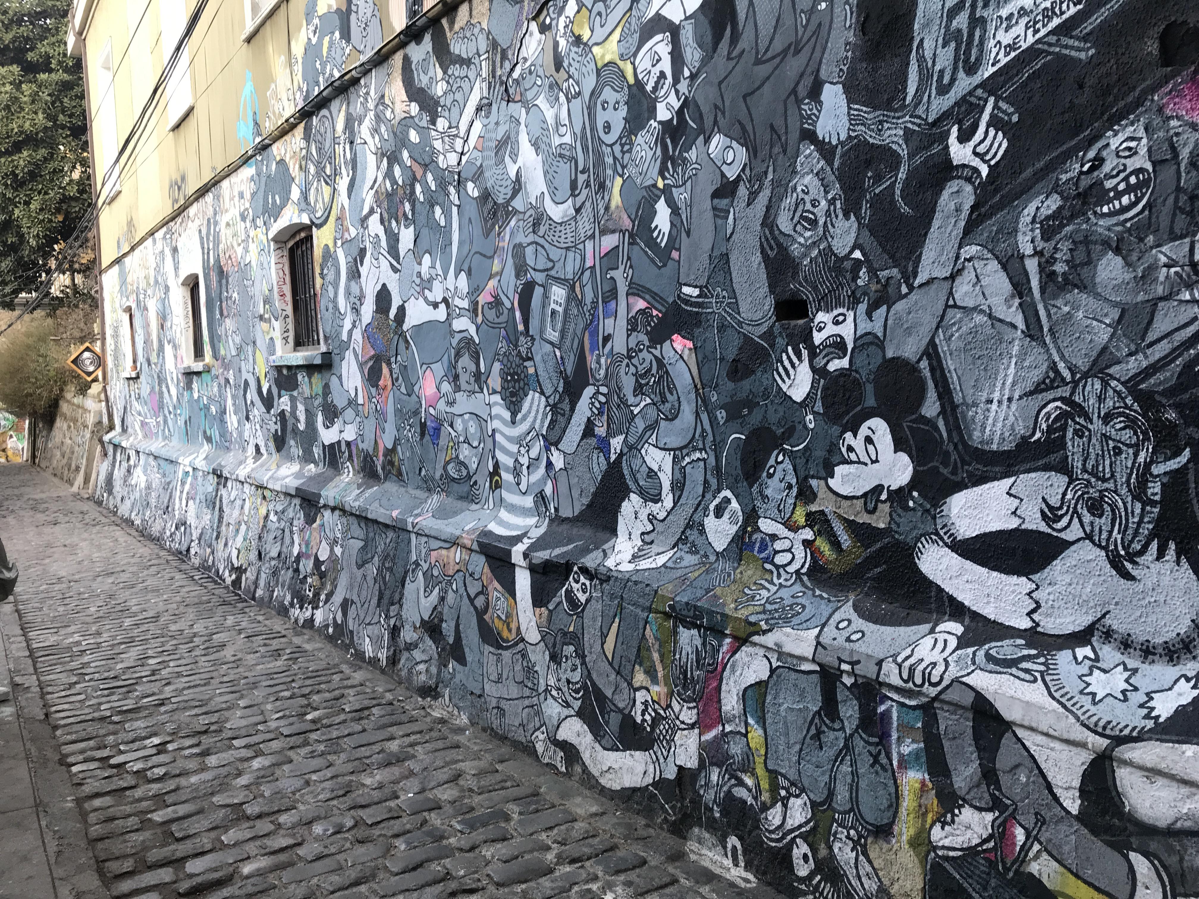 アートな街バルパライソ4
