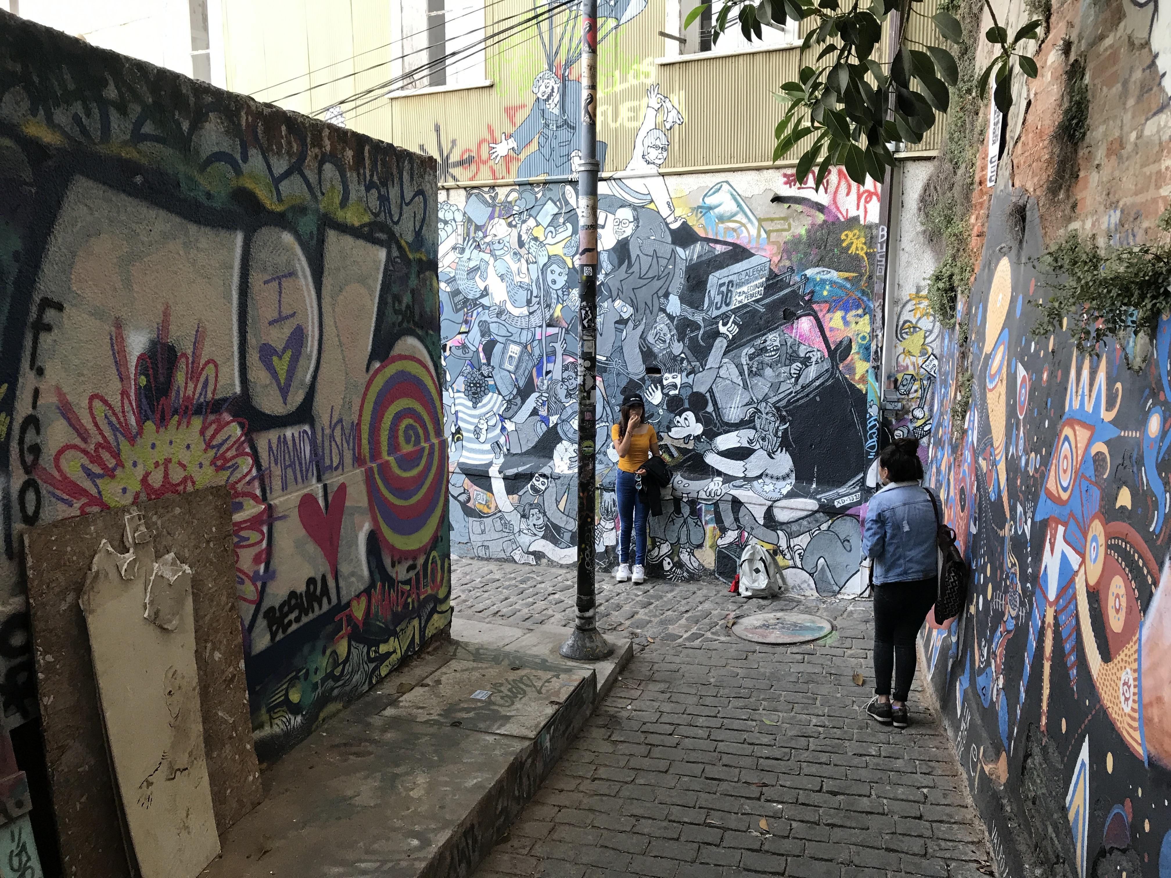 アートな街バルパライソ2