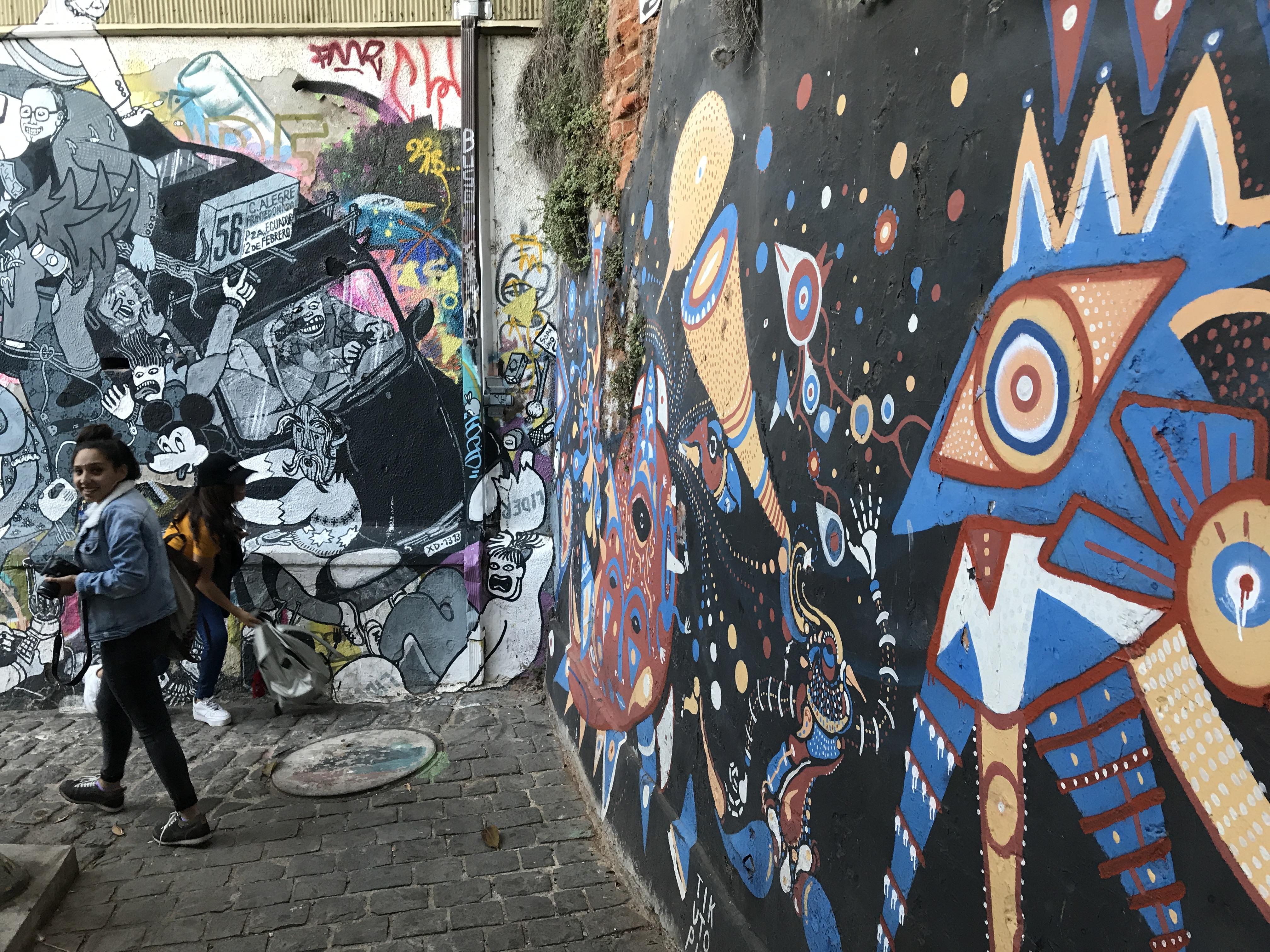 アートな街バルパライソ3
