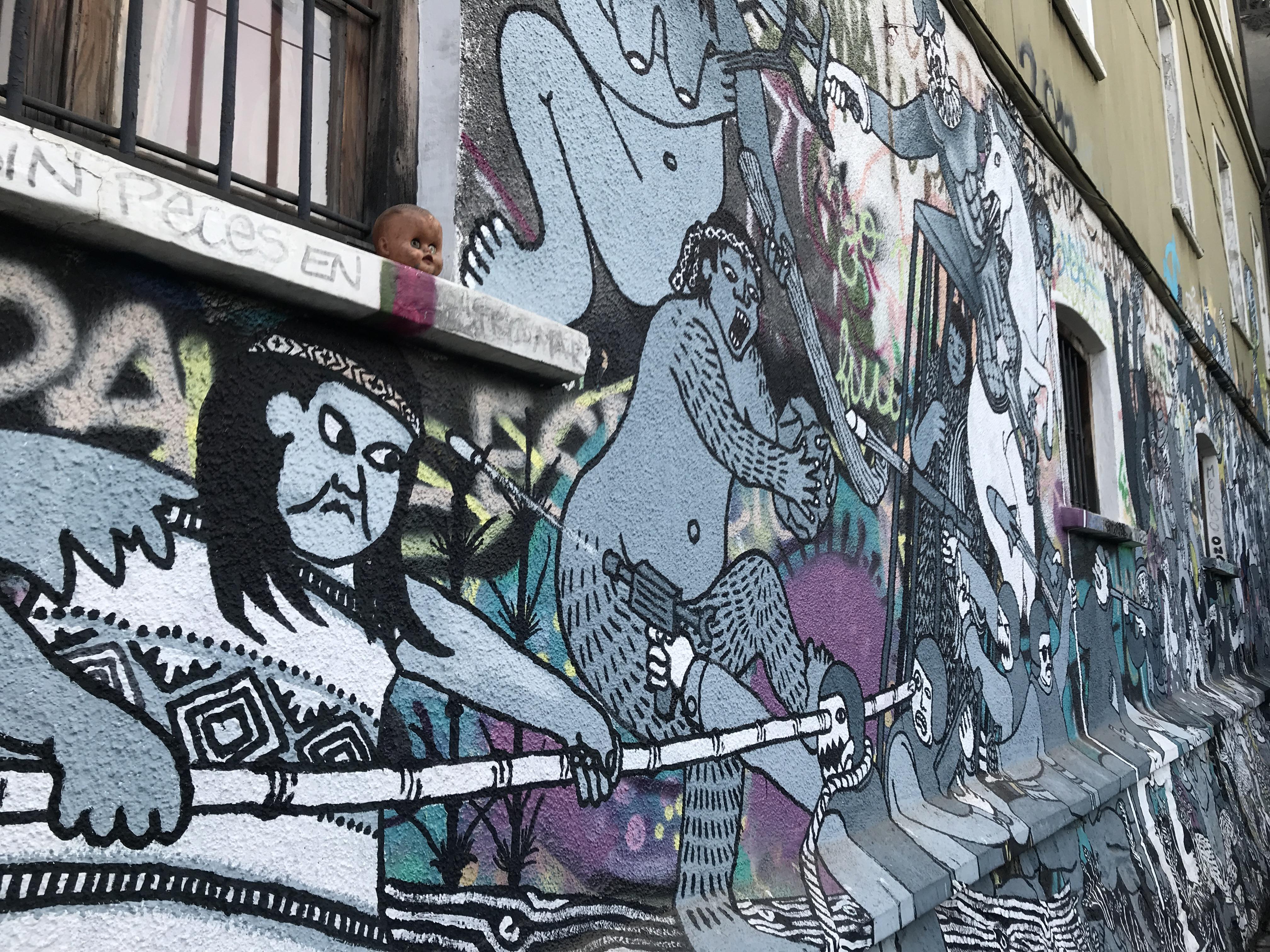アートな街バルパライソ6