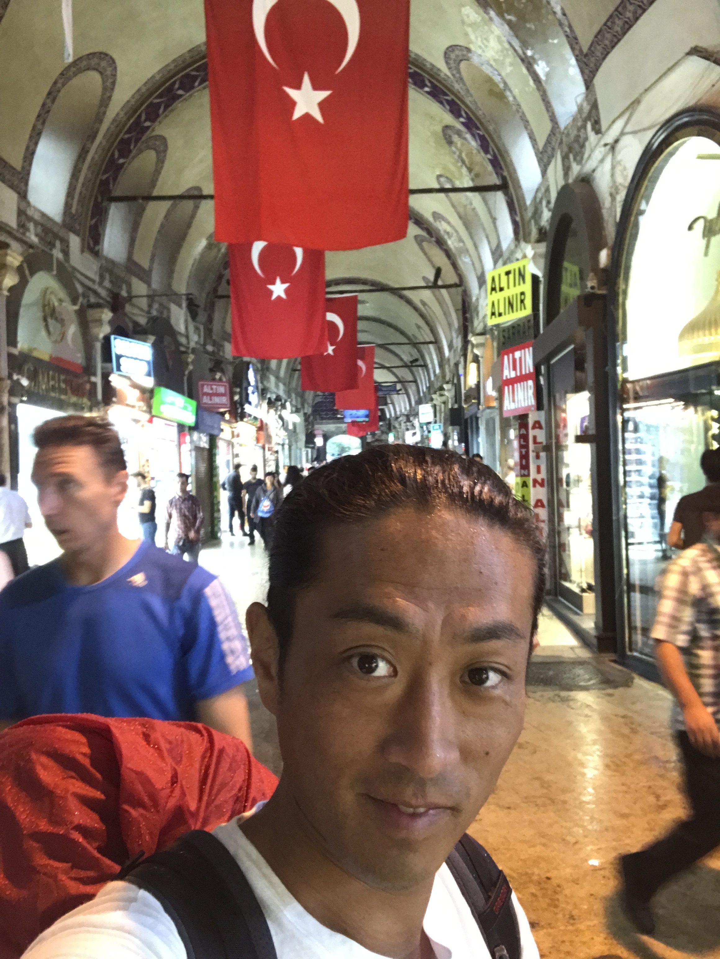 チパコプターのイスタンブール旅