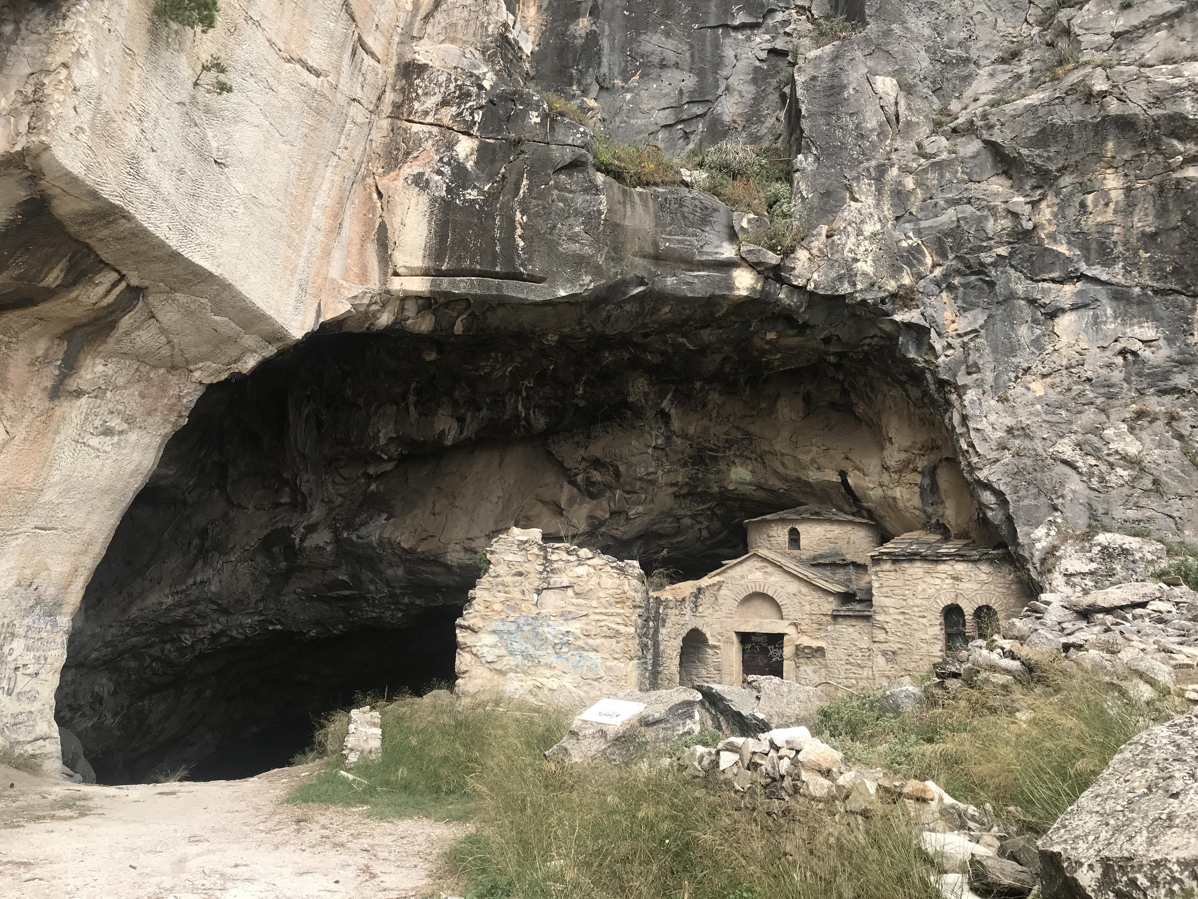 悪魔の洞窟@ギリシャ