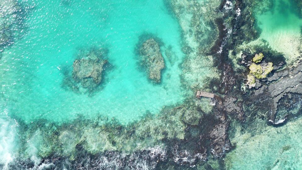ガラパゴス諸島ドローン