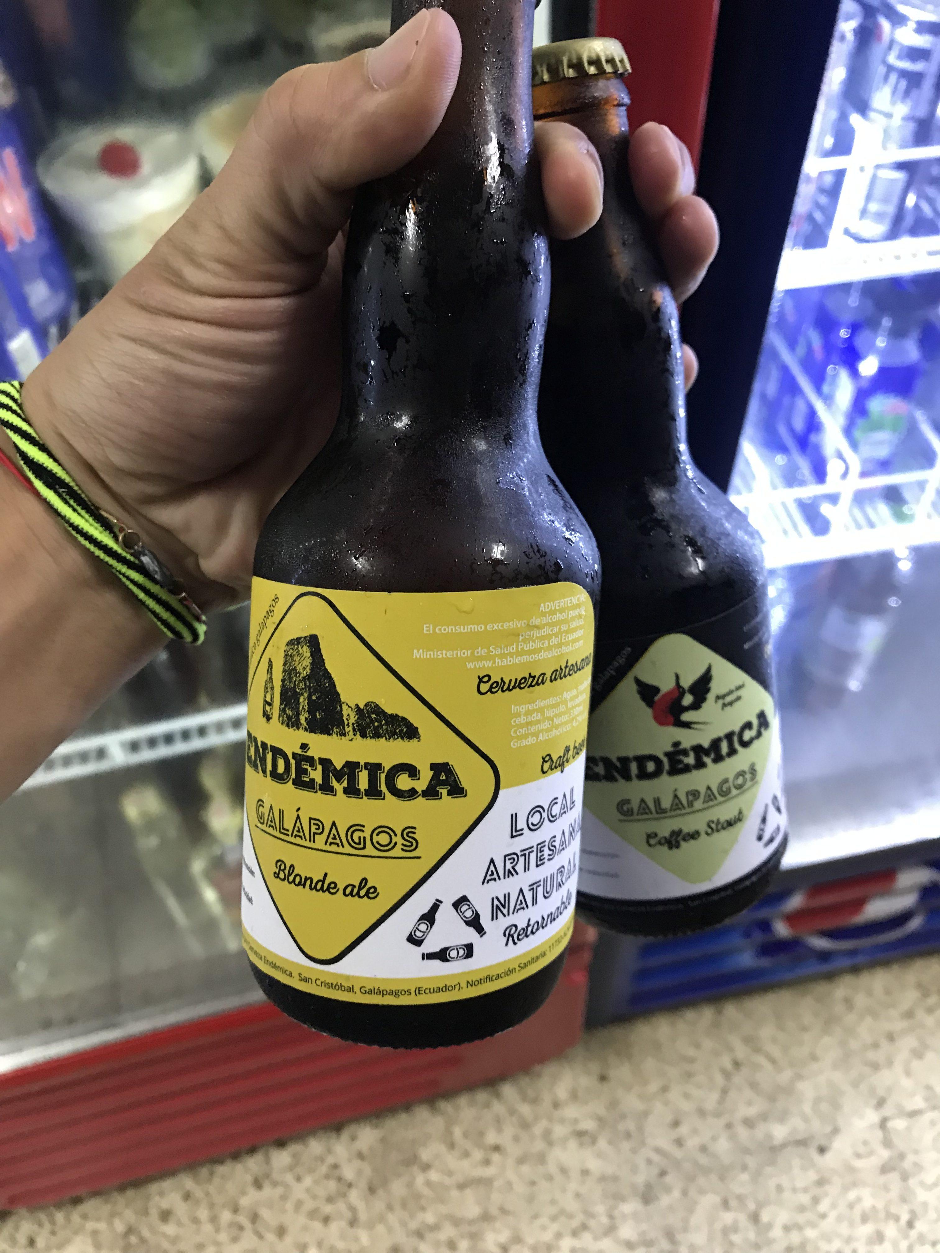ガラパゴス諸島限定ビール