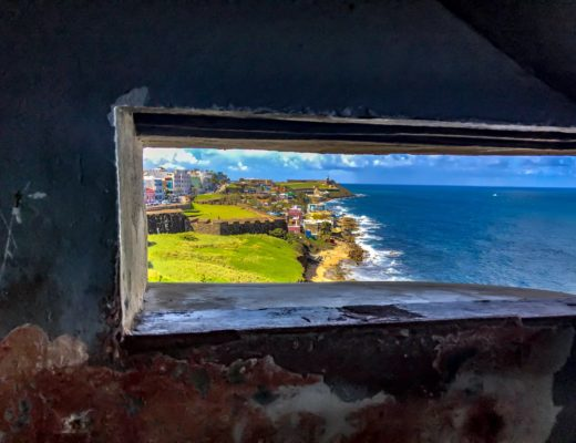 プエルトリコでドローン空撮