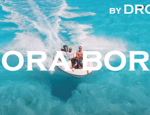ボラボラ島 のドローン映像を作りました